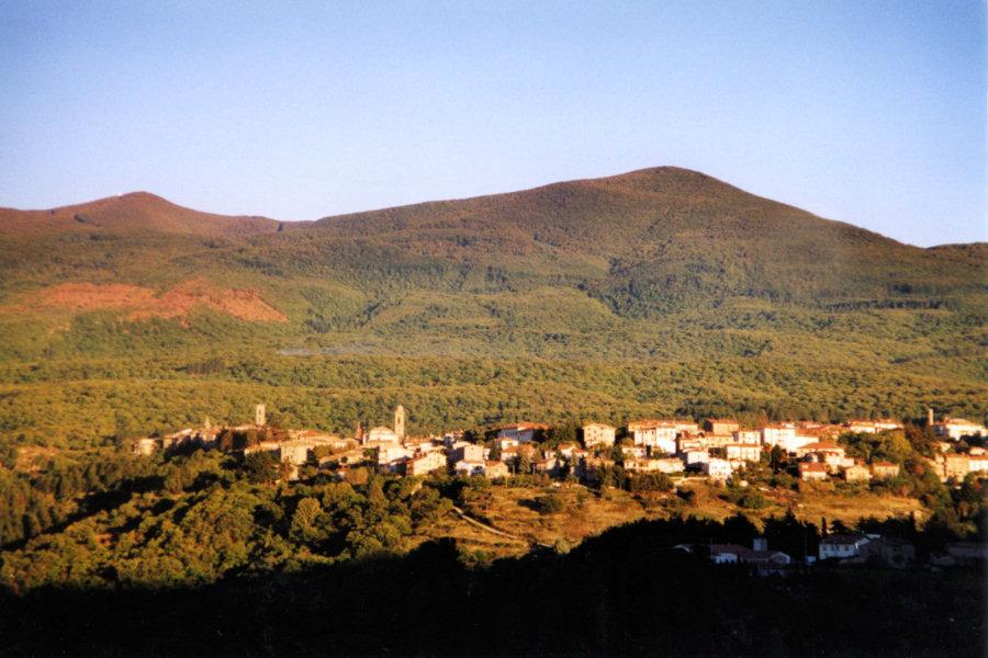 Panorama di Castel del Piano